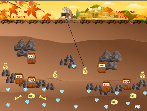 Gold Miner - favorite classic gold rush game