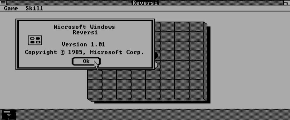 Trải nghiệm Windows 1.01 ngay trên trình duyệt web