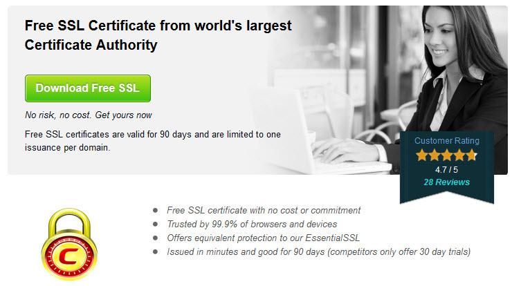 free ssl certificates 90 ngay