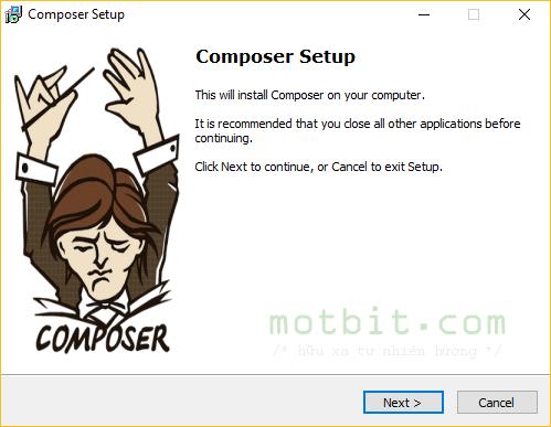 cai dat composer