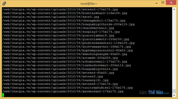 Hướng dẫn Backup và chuyển dữ liệu giữa 2 máy chủ dùng linux
