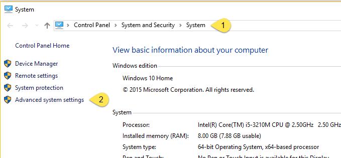 Hướng dẫn cách thiết lập biến môi trường PATH với Windows 10