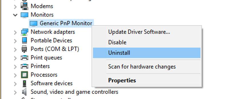 Hiện tượng màn hình laptop không thể chỉnh sáng tối